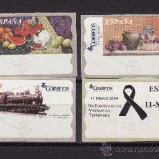 Sellos: ATM ESPAÑA NUEVOS SIN USAR EN SU SOPORTE ORIGINAL VARIOS. Lote 33242356