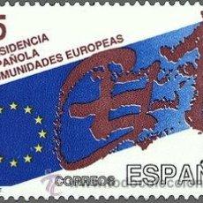 Sellos: ESPAÑA 1989 EDIFIL 3010 SELLO ** PRESIDENCIA ESPAÑOLA COMUNIDADES EUROPEAS EMBLEMA TAPIES 45PTS. Lote 31659069