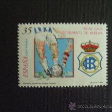 Sellos: ESPAÑA Nº EDIFIL 3644, Nº YVERT 3212*** AÑO 1999. FUTBOL. RECREATIVO DE HUELVA. Lote 214860545