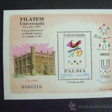 Sellos: ESPAÑA Nº EDIFIL 3648, Nº YVERT HB 81*** AÑO 1999. FILATEM, EN PALMA DE MALLORCA . Lote 97090216