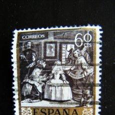 Sellos: SELLO CORREOS 60 CENTIMOS LAS MENINAS VELAZQUEZ. F.N.M.T. ESPAÑA.. Lote 32292082