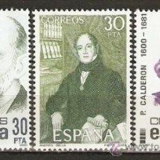 Sellos: ESPAÑA NUM. 2646/8 SERIE COMPLETA SIN FIJASELLOS. Lote 117420868