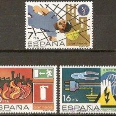 Sellos: ESPAÑA NUM. 2732/4 SERIE COMPLETA SIN FIJASELLOS. Lote 156957430