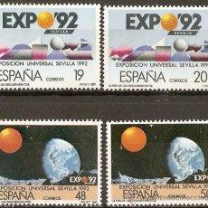 Sellos: ESPAÑA EDIFIL NUM. 2875/2876A ** SERIE COMPLETA SIN FIJASELLOS. Lote 89482036