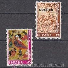 Sellos: ESPAÑA 3142M/3M MUESTRA, NAVIDAD, TIRADA LIMITADA RARA. Lote 32424668