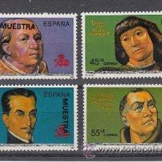 Sellos: ESPAÑA 3137M/40M MUESTRA, V CENTº DESCUBRIMIENTO, TIRADA LIMITADA RARA. Lote 32424714
