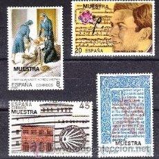 Sellos: ESPAÑA 3069M/72M MUESTRA, CENTº HIJAS CARIDAD, COMPOSITOR PADILLA, TIRADA LIMITADA RARA. Lote 32425081