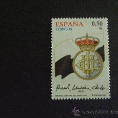 Sellos: ESPAÑA Nº EDIFIL 3887*** AÑO 2002 FUTBOL. CENTENARIO REAL UNION DE IRUN. Lote 214860516