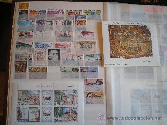 SELLOS AÑO 80, COMPLETO, NUEVOS, SIN CHARNELAS, CON HOJITAS (Sellos - España - Juan Carlos I - Desde 1.975 a 1.985 - Nuevos)