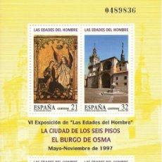 Sellos: ESPAÑA 1997, EDIFIL. Nº 3494. LAS EDADES DEL HOMBRE. Lote 181872270