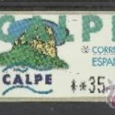 Sellos: ATM CALPE SERIE DE 3 SIN USAR SVV ETIQUETAS. Lote 45532402