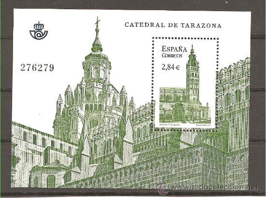 CATEDRAL DE TARAZONA - 2011 (Sellos - España - Juan Carlos I - Desde 2.000 - Nuevos)