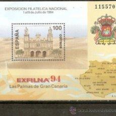 Sellos: ESPAÑA HOJITA EXFILNA´94 EDIFIL NUM. 3313 ** NUEVA SIN FIJASELLOS. Lote 156551984