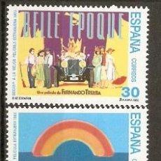 Selos: ESPAÑA CINE ESPAÑOL EDIFIL NUM. 3336/3337 ** SERIE COMPLETA SIN FIJASELLOS. Lote 161136557