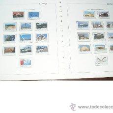 Sellos: ESPAÑA AÑO 1992 NUEVO COMPLETO .MONTADO EN HOJAS EDIFIL.. Lote 34580011