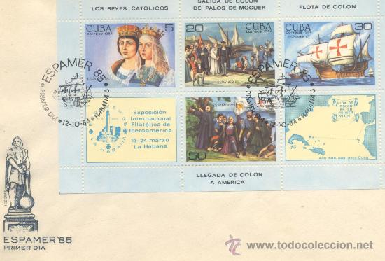 ESPAMER 85 VARIOS (Sellos - España - Juan Carlos I - Desde 1.975 a 1.985 - Cartas)