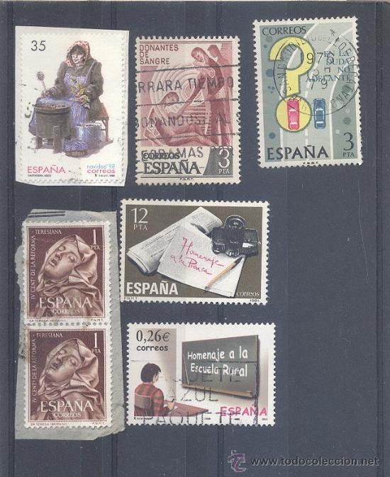 ESPAÑA, LOTE DE SELLOS USADOS (Sellos - España - Juan Carlos I - Desde 1.975 a 1.985 - Usados)
