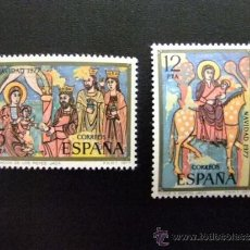 Sellos: ESPAÑA AÑO 1977 EDIFIL 2446 - 2447 ** NAVIDAD -NOEL. Lote 34724249