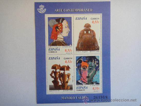 ESPAÑA, H.B. ARTE CONTEMPORANEO, AÑO 2012, Nº EDIFIL-4739-VALOR CATÁLOGO, 6€ (Sellos - España - Juan Carlos I - Desde 2.000 - Nuevos)