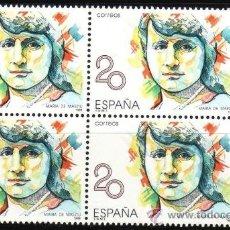 Sellos: ESPAÑA. 1989. MUJERES FAMOSAS. MARÍA DE MAEZTU. EDIFIL 2989. BLOQUE DE 4. Lote 35055758