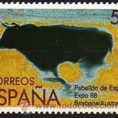 Sellos: ESPAÑA. 1988. EXPOSICIÓN MUNDIAL DE BRISBANE. EDIFIL 2953. Lote 35332434