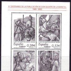 Sellos: ESPAÑA. 2005. IV CENTENARIO PUBLICACIÓN DE EL QUIJOTE. EDIFIL 4161. Lote 35584822