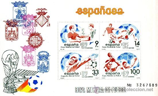 ESPAÑA 82 COPA MUNDIAL DE FUTBOL. (Sellos - España - Juan Carlos I - Desde 1.975 a 1.985 - Nuevos)