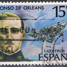 Sellos: 2597 15 PTA ALFONSO DE ORLEANS / PIONEROS DE LA AVIACIÓN.. Lote 35688879