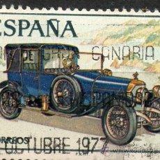 Sellos: 2412 / 7 PTA ABADAL / AUTOMÓVILES ANTIGUOS ESPAÑOLES.. Lote 35700253