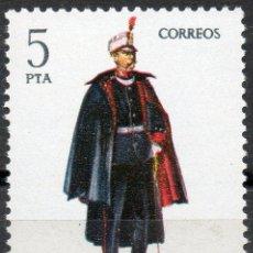 Sellos: 2454 / NUEVO / 5 PTA CAPITÁN DE INGENIEROS / UNIFORMES MILITARES.. Lote 35700616