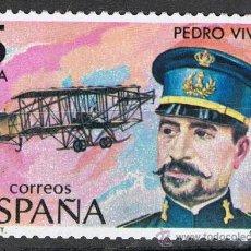 Sellos: 2595 / NUEVO / 5 PTA PEDROS VIVES VICH / PIONEROS DE LA AVIACIÓN. Lote 35784789