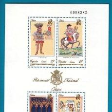 Sellos: ESPAÑA 1992, HOJITA EDIFIL 3236, PATRIMONIO ARTISTICO NACIONAL, CODICES, NUEVO SIN FIJASELLOS. Lote 36123723