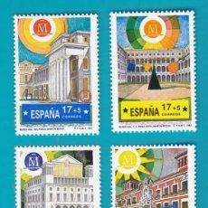 Sellos: ESPAÑA 1992 EDIFIL 3228 AL 3231 MADRID CAPITAL EUROPEA DE LA CULTURA 92, NUEVO SIN FIJASELLOS,. Lote 36175582