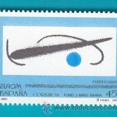 Sellos: ESPAÑA 1993, EDIFIL 3250, EUROPA OBRAS DE JUAN MIRO (1893 - 1983), NUEVO SIN FIJASELLOS. Lote 36175811