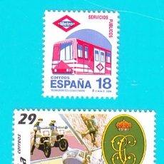 Sellos: ESPAÑA 1994, EDIFIL 3322 Y 3323, SERVICIOS PUBLICOS, NUEVO SIN FIJASELLOS. Lote 36176897