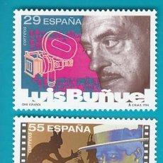 Sellos: ESPAÑA 1994, EDIFIL 3277 Y 3278, CINE ESPAÑOL, NUEVO SIN FIJASELLOS. Lote 36176941