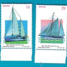 Sellos: ESPAÑA 1994, EDIFIL 3314 Y 3315, BARCOS DE EPOCA, NUEVO SIN FIJASELLOS. Lote 36177007