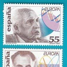 Sellos: ESPAÑA 1994, EDIFIL 3301 Y 3302, EUROPA, DESCUBRIMIENTOS, NUEVO SIN FIJASELLOS. Lote 36177496