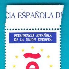 Sellos: ESPAÑA 1995, EDIFIL 3385, PRESIDENCIA ESPAÑOLA DE LA UNION EUROPEA, NUEVO/S SIN FIJASELLOS. Lote 36243710