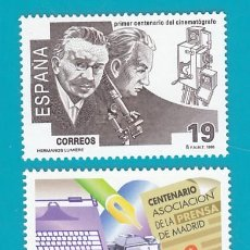 Sellos: ESPAÑA 1995, EDIFIL 3362 Y 3363, EFEMERIDES, NUEVO/S SIN FIJASELLOS. Lote 36244087