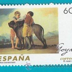 Sellos: ESPAÑA 1996, EDIFIL 3439, FRANCISCO DE GOYA Y LUCIENTES, NUEVO/S SIN FIJASELLOS. Lote 36244756