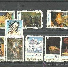 Sellos: AÑO 1994 SERIE DALI NUEVO VALOR CATALOGO 6 €. Lote 36436301
