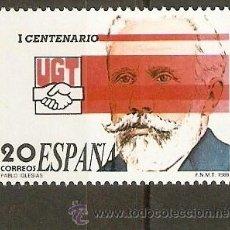 Sellos: ESPAÑA EDIFIL NUM. 2948 ** SERIE COMPLETA SIN FIJASELLOS. Lote 206317846