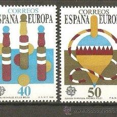 Sellos: ESPAÑA EDIFIL NUM. 3008/9 ** SERIE COMPLETA SIN FIJASELLOS. Lote 120983882