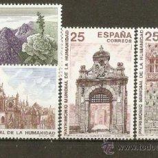 Selos: ESPAÑA EDIFIL NUM. 3146/9 ** SERIE COMPLETA SIN FIJASELLOS. Lote 241750410