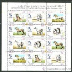 Sellos: ESPAÑA - CABALLOS CARTUJANOS 1998. Lote 37333817