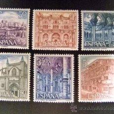 Sellos: ESPAÑA AÑO 1970 EDIFIL Nº 1982 / 87 ** YVERT Nº 1637 / 42 ** SERIE TURISMO. Lote 179163396