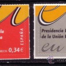 Sellos: ESPAÑA 4547/48*** - AÑO 2010 - PRESIDENCIA ESPAÑOLA DE LA UNION EUROPEA. Lote 37553770