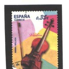 Sellos: ESPAÑA 2011 - EDIFIL NRO. 4628 - INSTRUMENTOS MUSICALES - USADO. Lote 37653633