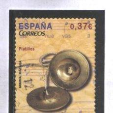 Sellos: ESPAÑA 2013 - EDIFIL NROS. 4785 - INSTRUMENTOS MUSICALES - USADO. Lote 42971613